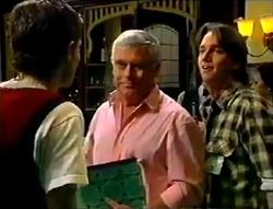 Martin Pike, Lou Carpenter, Darren Stark in Neighbours Episode 2955
