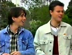 Darren Stark, Martin Pike in Neighbours Episode 2955
