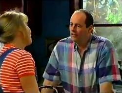Ruth Wilkinson, Philip Martin in Neighbours Episode 2955