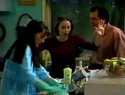 Susan Kennedy, Libby Kennedy, Karl Kennedy in Neighbours Episode 2975