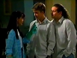 Susan Kennedy, Billy Kennedy, Toadie Rebecchi in Neighbours Episode 2975