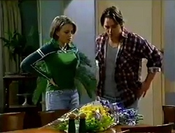 Libby Kennedy, Darren Stark in Neighbours Episode 2979