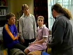 Billy Kennedy, Lance Wilkinson, Anne Wilkinson, Toadie Rebecchi in Neighbours Episode 2980