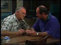 Harold Bishop, Philip Martin in Neighbours Episode 3054