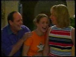Philip Martin, Hannah Martin, Ruth Wilkinson in Neighbours Episode 3054