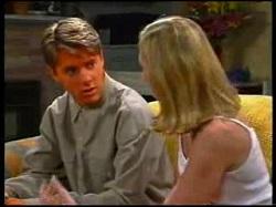 Lance Wilkinson, Amy Greenwood in Neighbours Episode 3054