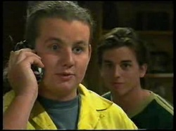 Toadie Rebecchi, Nick Atkins in Neighbours Episode 3054