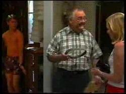 Lance Wilkinson, Harold Bishop, Amy Greenwood in Neighbours Episode 3054