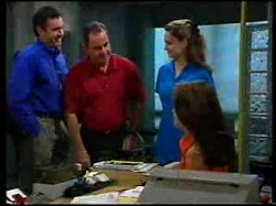 Karl Kennedy, Lee Bannock, Shyla, Sarah Beaumont in Neighbours Episode 3055