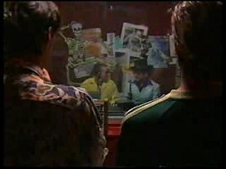 Tony Simpson, Toadie Rebecchi, Dave Graney, Nick Atkins in Neighbours Episode 3055
