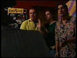 Toadie Rebecchi, Nick Atkins, Tony Simpson in Neighbours Episode 3055