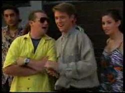 Tony Simpson, Toadie Rebecchi, Lance Wilkinson, Anne Wilkinson in Neighbours Episode 3055