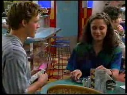 Billy Kennedy, Caitlin Atkins in Neighbours Episode 3055