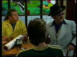 Toadie Rebecchi, Dave Graney, Nick Atkins in Neighbours Episode 3055
