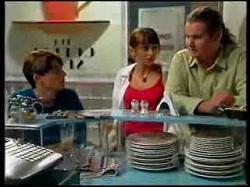 Paul McClain, Karen Oldman, Toadie Rebecchi in Neighbours Episode 3076