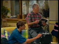 Paul McClain, Harold Bishop in Neighbours Episode 3076