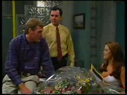 Kim Howard, Karl Kennedy, Sarah Beaumont in Neighbours Episode 3076
