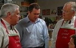 Lou Carpenter, Karl Kennedy, Harold Bishop in Neighbours Episode 4726