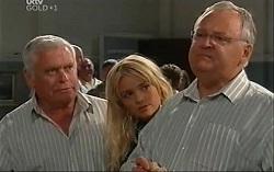 Lou Carpenter, Sky Mangel, Harold Bishop in Neighbours Episode 4726