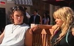 Dylan Timmins, Sky Mangel in Neighbours Episode 4726