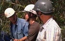 Bobby Hoyland, Boyd Hoyland, Max Hoyland in Neighbours Episode 4727