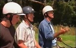 Boyd Hoyland, Max Hoyland, Bobby Hoyland in Neighbours Episode 4727