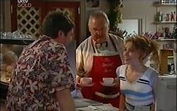 David Bishop, Harold Bishop, Serena Bishop in Neighbours Episode 4727