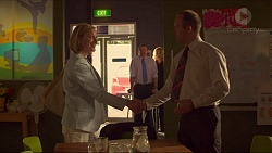 Philippa Hoyland, Toadie Rebecchi, Steph Scully, Michael Arnold in Neighbours Episode 7312