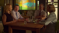 Steph Scully, Toadie Rebecchi, Michael Arnold, Philippa Hoyland in Neighbours Episode 7312
