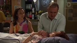 Imogen Willis, Karl Kennedy, Susan Kennedy in Neighbours Episode 7313