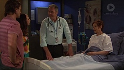 Brad Willis, Imogen Willis, Karl Kennedy, Susan Kennedy in Neighbours Episode 7313