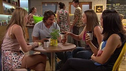 Xanthe Canning, Brad Willis, Piper Willis, Imogen Willis in Neighbours Episode 7313