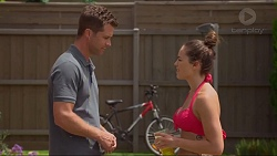 Mark Brennan, Paige Novak in Neighbours Episode 7313