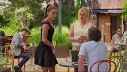 Paige Novak, Lauren Turner, Brad Willis in Neighbours Episode 7314