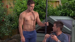 Aaron Brennan, Mark Brennan in Neighbours Episode 7314
