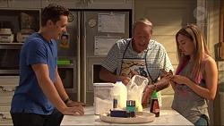 Josh Willis, Doug Willis, Piper Willis in Neighbours Episode 7315