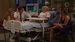 Xanthe Canning, Kyle Canning, Sheila Canning, Amy Williams in Neighbours Episode 7315