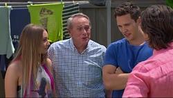 Piper Willis, Doug Willis, Josh Willis, Brad Willis in Neighbours Episode 7316