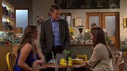 Amy Williams, Paul Robinson, Nina Williams in Neighbours Episode 7316