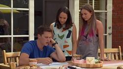 Josh Willis, Imogen Willis, Piper Willis in Neighbours Episode 7316
