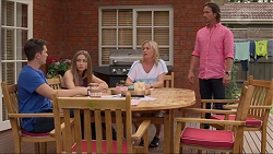 Josh Willis, Piper Willis, Lauren Turner, Brad Willis in Neighbours Episode 7316