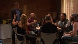 Paul Robinson, Steph Scully in Neighbours Episode 7316
