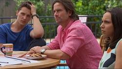 Josh Willis, Brad Willis, Imogen Willis in Neighbours Episode 7316