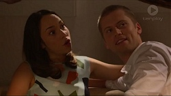 Imogen Willis, Daniel Robinson in Neighbours Episode 7318