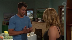 Mark Brennan, Steph Scully in Neighbours Episode 7318