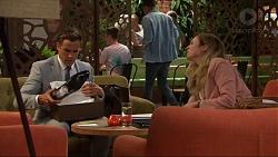 Aaron Brennan, Sonya Mitchell in Neighbours Episode 7318