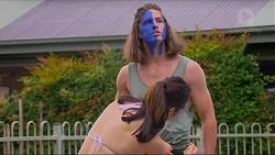 Tyler Brennan, Imogen Willis in Neighbours Episode 7318