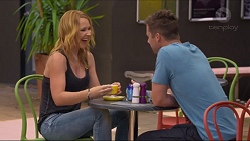 Steph Scully, Mark Brennan in Neighbours Episode 7318