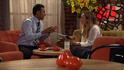 Tom Quill, Sonya Mitchell in Neighbours Episode 7318