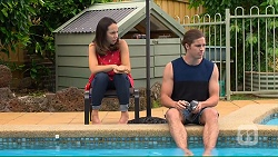 Imogen Willis, Tyler Brennan in Neighbours Episode 7319